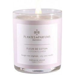 Plantes & Parfums Vonná svíčka Fleur de Coton