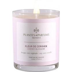 Plantes & Parfums Vonná svíčka Fleur de Cerisier