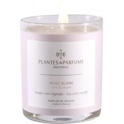 Plantes & Parfums Vonná svíčka Musc Blanc