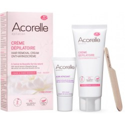 ACORELLE Depilační krém na obličej a citlivé zóny + péče pro zklidnění