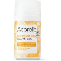 Acorelle Deodorant s dlouhotrvajícím efektem citron - moringa roll-on