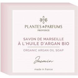 Plantes & Parfums Tuhé mýdlo s arganovým olejem Jasmin