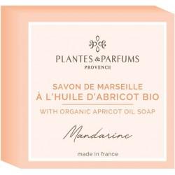 Plantes & Parfums Tuhé mýdlo s bio arganovým olejem Mandarine