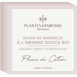 Plantes & Parfums Tuhé mýdlo s bio arganovým olejem Fleur de Coton