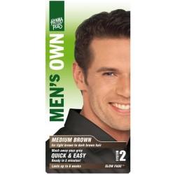 «Men's Own» Přírodní barva pro muže «Hnědá»