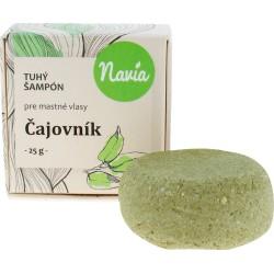 Tuhý šampon pro mastné vlasy «Čajovník»