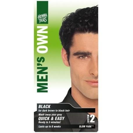 Hennaplus Přírodní barva pro muže Černá
