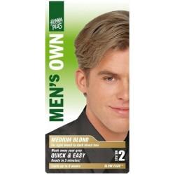 «Men's Own» Přírodní barva pro muže «Střední blond»