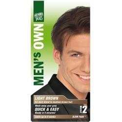 «Men's Own» Přírodní barva pro muže «Světle hnědá»