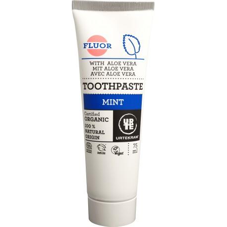 Urtekram Zubní pasta mátová s fluoridem