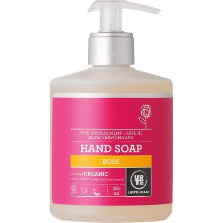 Urtekram Tekuté mýdlo na ruce růžové