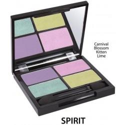 ZUII ORGANIC Bio oční stíny «Quatro Spirit»