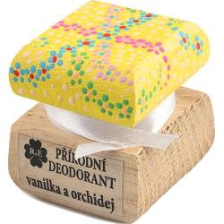 «Color» Krémový deodorant «Vanilka a orchidej»