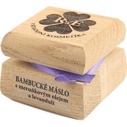 Bambucké tělové a pleťové máslo s meruňkovým olejem a levandulí