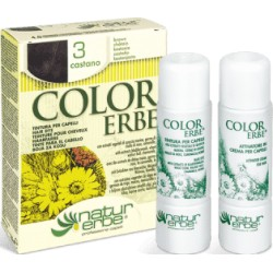 «Color Erbe» Barva na vlasy 03 «Kaštanová»