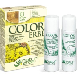 «Color Erbe» Barva na vlasy 08 «Medová blond»