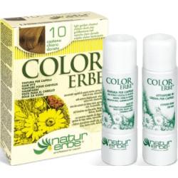 «Color Erbe» Barva na vlasy 10 «Světlý zlatavý kaštan»
