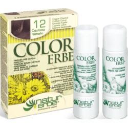 Natur Erbe Color Erbe Barva na vlasy No.12 Kaštanově měděná 4.4