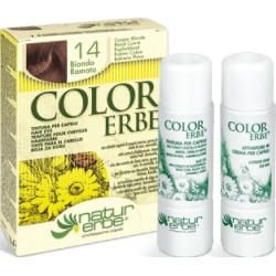 COLOR ERBE Barva na vlasy No.14 Měděná blond 7.4