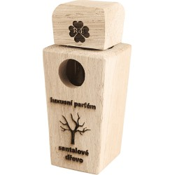 Luxusní parfém «Santalové dřevo» - balení dub