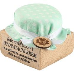 Hydratační krém s mandlovým a meruňkovým olejem a fenyklem - krabička dub