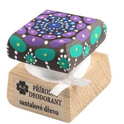 Krémový deodorant «Mandala» - santalové dřevo