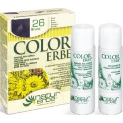 Natur Erbe Color Erbe Barva na vlasy No.26 Temně hnědá 2.0