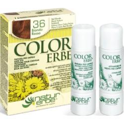 COLOR ERBE Barva na vlasy No.36 Červená blond 7.6