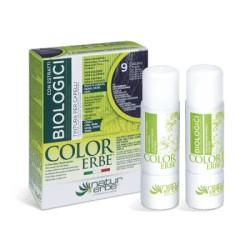 Natur Erbe Color Erbe Biologici Barva na vlasy No.09 Světle hnědá 5.0