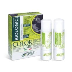 COLOR ERBE BIOLOGICI Barva na vlasy No.12 Tmavě měděná 6.4
