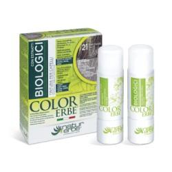 Natur Erbe Color Erbe Biologici Barva na vlasy No.21 Přírodní zesvětlovač 11.0