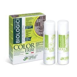 Natur Erbe Color Erbe Biologici Barva na vlasy No.22 Popelavě světle hnědá 5.1