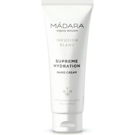 MÁDARA Ultra hydratační krém na ruce, Infusion Blanc
