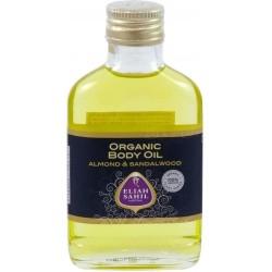 Ajurvédský mandlový tělový olej se santalem