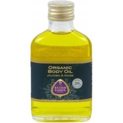 Ajurvédský jojobový tělový olej s růží