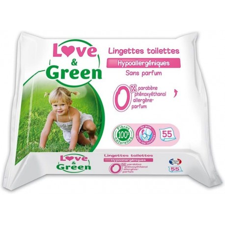 Love & Green Vlhčené ubrousky
