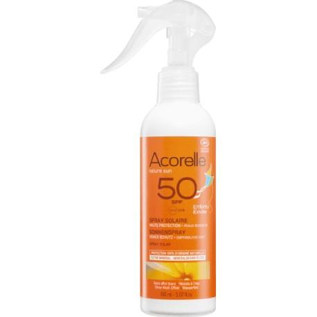 ACORELLE Opalovací sprej pro děti SPF 50