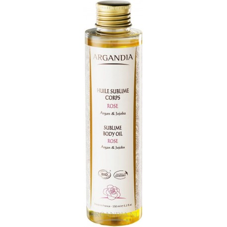 ARGANDIA Suchý tělový arganový olej s jojobou a růží