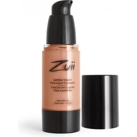 Zuii Organic Bio tekutý make-up Natural Tan