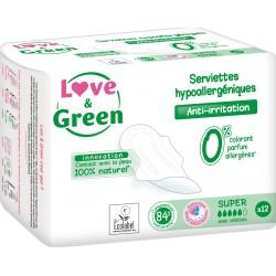 Love & Green Hygienické vložky super