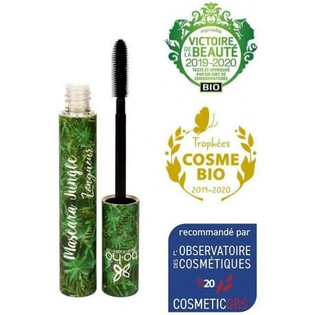 Boho Green Řasenka Jungle Longueur černá