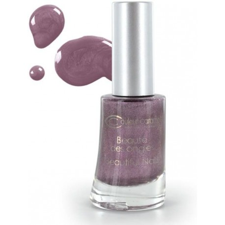 Couleur Caramel Lak na nehty perleťový č. 69 Violet