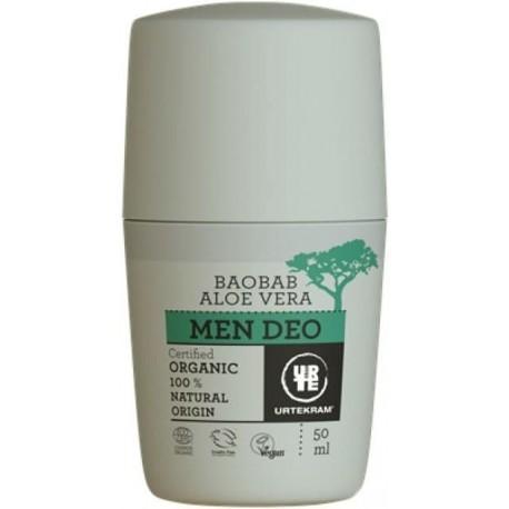 Urtekram MEN Deodorant roll-on pro muže