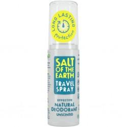 Crystal Spring Salt of the Earth Deo sprej cestovní bez vůně