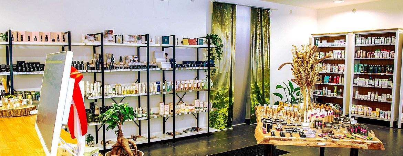 Kamenný obchod s přírodní kosmetikou Element of Beauty